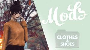 mods cc clothes and shoes pack folder