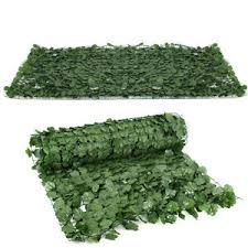 Expandable Artificial Leaf Leaves Faux Ivy Privacy Fence Screen Decor 39 X 94 Ebay