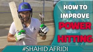 power hitting in cricket