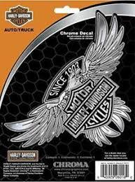 Harley Davidson Motor Cycle Bike Decal Sticker Hd Truck Car Chrome Eagle 026018 Ebay
