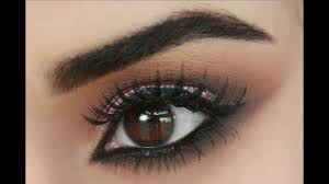 brown eyes pop brown smokey eye