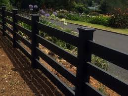 Modern Fence Ideas For Your Backyard Post And Rail Fence Front Yard Fence Fence Design