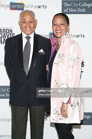 Byron Lewis and Sylvia Lewis attend the City College Center For ...