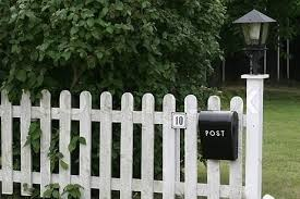 Mailbox Fence Front Yard Fence Ideas Curb Appeal Fence Design Modern Fence Design