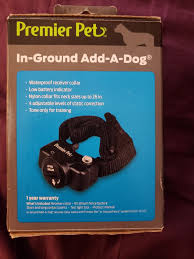 New Premier Pet In Ground Fence Add A Dog Collar For Sale In Salem Or Offerup