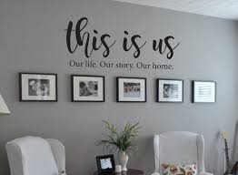 This Is Us Our Life Our Story Our Home Family Quote Vinyl Wall Etsy