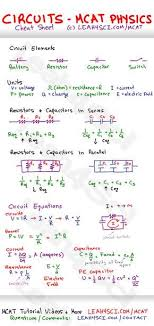 circuits in mcat physics study guide