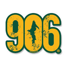 Sticker 906 Window Decal 7 Yooper Shirts Inc