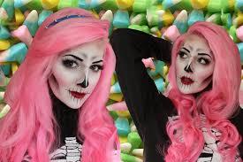 creepy cute skeleton makeup tutorial