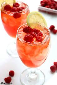 raspberry iced tea homemade fresh