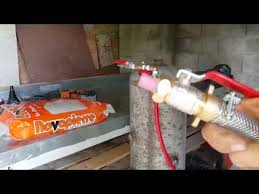 ment fabriquer un pistolet de sablage