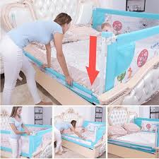 Best Promo A627f4 Baby Bed Fence Home Kids Playpen Safety Gate Products Child Care Barrier For Beds Crib Rails Security Fencing Children Guardrail Cicig Co