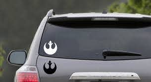 Star Wars Rebel Symbol Star Wars Sticker Car Vinyl Decal Sticker The Empire Doesn T Care