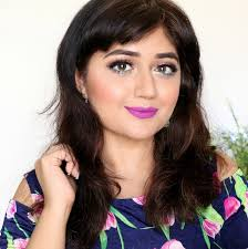 summer makeup tutorial ft purple lip