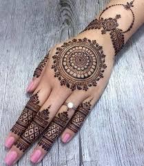 Simple New Bridal Mehndi Design