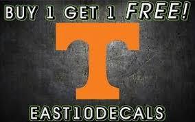 Ut Tennessee Volunteers Large Power T Cornhole Decals Set Of 2 Vols 11 Ebay
