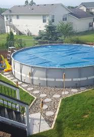 outdoor oasis around your intex pool