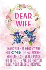 bol dear wife thank you for being