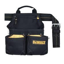 pocket carpenter s nail and tool bag