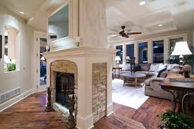 fireplace double sided