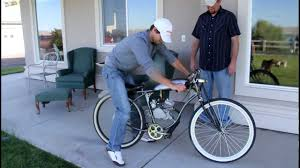 motorized bicycle board track racer