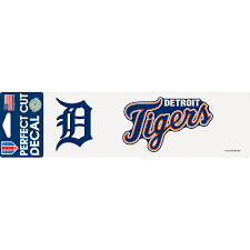 Detroit Tigers Decal 10in X 3in Party City