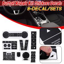 For 04 09 Vw Volkswagen Touareg Radio Window Worn Climate Button Repair Kit Stickers Decals Walmart Com Walmart Com