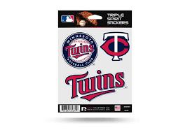 Minnesota Twins Window Decal Set Sticker Officially Licensed Mlb Custom Sticker Shop