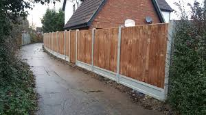 Wood Fence Panel Installation Chelmsford Fencing