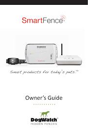 Dwsfc Smart Collar User Manual Dogwatch