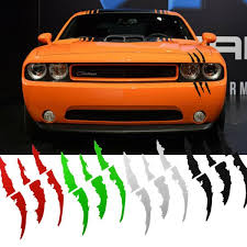 Headlight Claws Scratch Decal Universal Fit Mustang Camaro Dodge Charger Durango Ebay