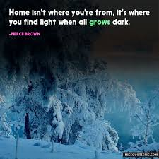 family quotes home is not where you are from