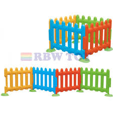 Kids Plastic Fence And Playfence Multi Colour Rw 16334
