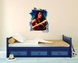 Super Heroine Wonder Woman Wall Decal Egraphicstore