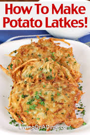 potato latkes recipe how to make