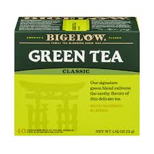 4 bo bigelow clic green tea tea