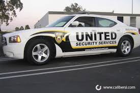 Security Patrol Cars With Some Reflective Vinyl For Night Time Visibility Vehicles Car Lettering Police Cars