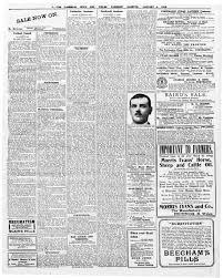 Cymru 1914 - Friday 4th of January, 1918
