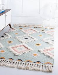 Light Aqua 8 X 10 Arizona Rug Rugs Com In 2020 Southwestern Area Rugs Kids Area Rugs Small Rugs