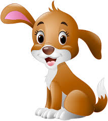 Cute Dog Cartoon PNG Clip Art Image | Gallery Yopriceville - High ...