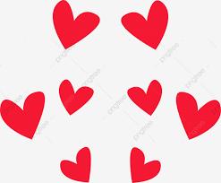 الحب الاحمر خلفية الحب الحب التوضيح الكرتون الحب خلفية التصميم