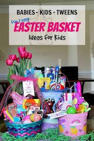 kids easter basket ideas made easy
