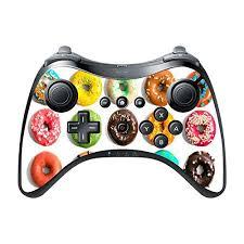 Bright Colorful Donuts Doughnuts Yummy Wii U Pro Controller Vinyl Decal Sticker Skin By Debbie S Designs Walmart Com Walmart Com