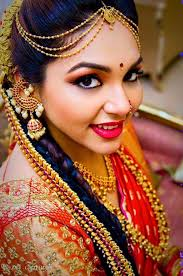 south indian bridal makeup for round