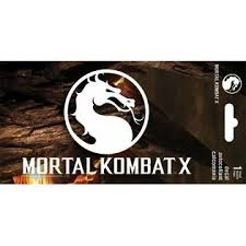 Trends Mortal Kombat Logo Window Decal Sticker Brand New Video Game 7190