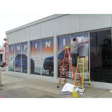 Custom Window Decals San Diego Window Graphic Print Full Color Window Vinyl Wrap