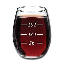 funny 15 ounce stemless wine glass
