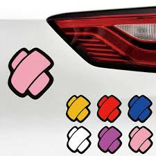 Jdm 5 X5 Crossed Bandage Die Cut Vinyl Decal Bumper Sticker Car Funny 0263