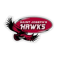 St Joseph S Hawks B Die Cut Vinyl Decal Sticker 4 Sizes