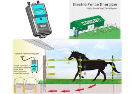 China Day Night Sensor Farm Electric Fence Energiser Energizer Charger Controller Unit China Fence Energizer Electric Fence Energizer